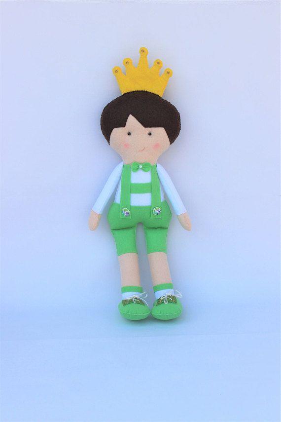 Muñeco Príncipe decoración habitación niños regalo recién