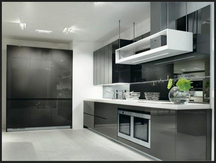Black Modern Kitchen Ideas