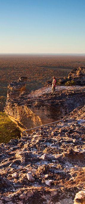 Alto da Pedra Furada, Parque Nacional da Serra da Capivara, Piauí, Brazil