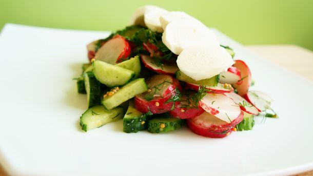 Салат с моцареллой | Рецепты: Wafli.net