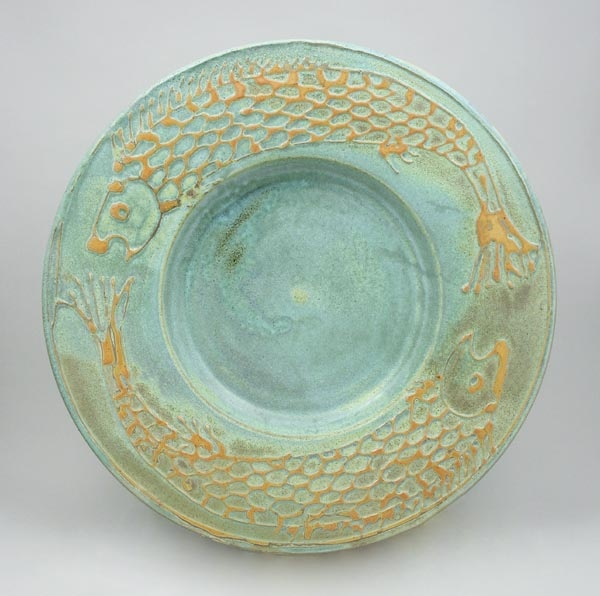 Robin Hopper - Wow love everything about this plate; the texture the way the glaze breaks the colors. & 374 best pottery - plates - platters images on Pinterest | Ceramic ...