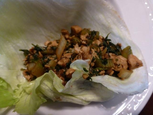 Asian Chicken Lettuce Wraps (Medifast compliant!)
