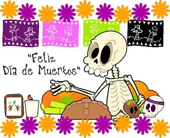 feliz dia de muertos