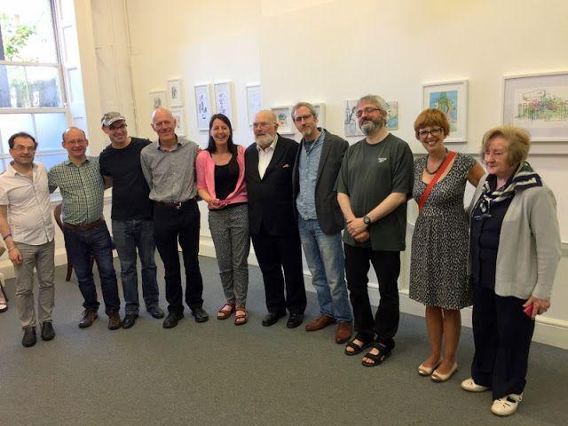MHBD's Blog: David Norris at the Olivier Cornet Gallery