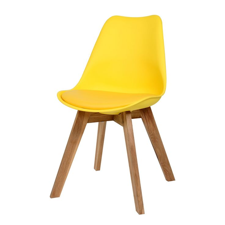 Stolička VOLADO - žltá