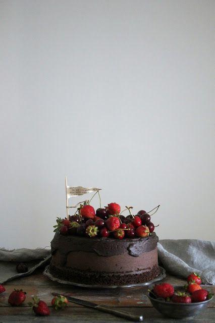 """""""di cuore"""": torta al latte caldo e cacao nella pentola fornett..."""