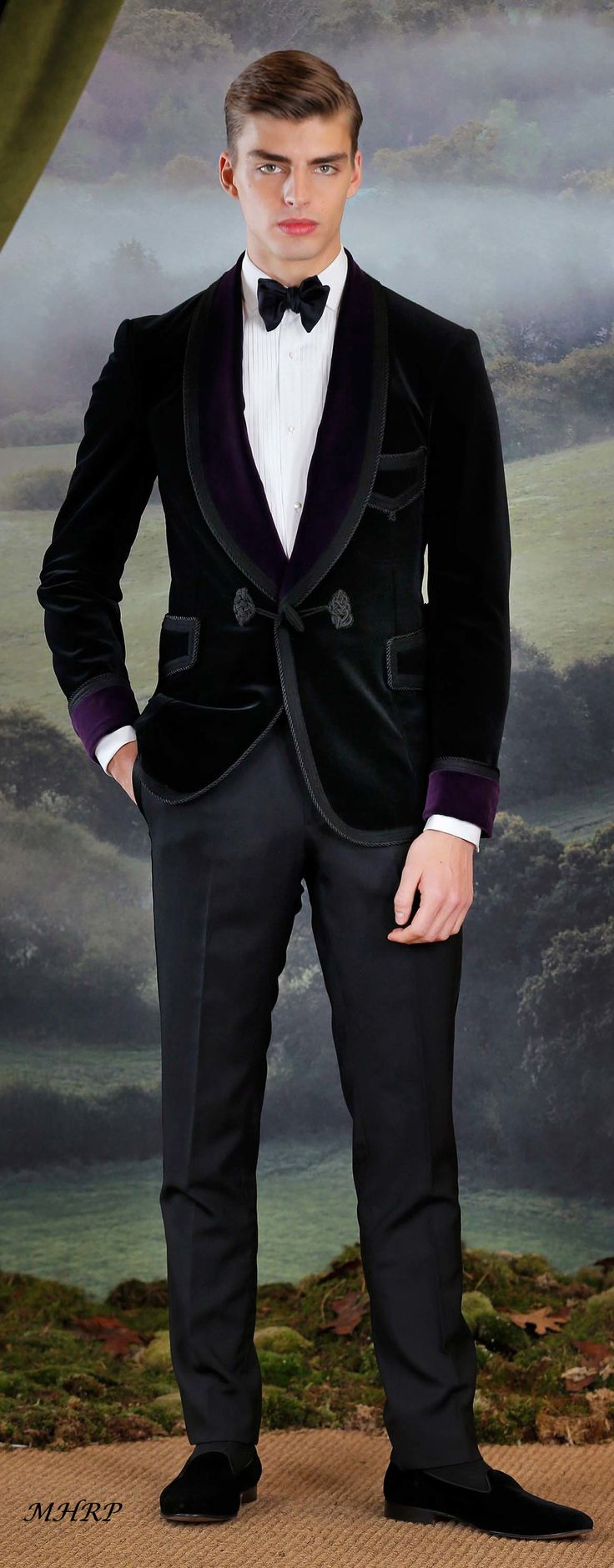purple-label-Ralph-Lauren-fall 2018_ image pinned from vogue.com