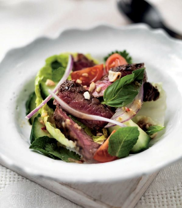 Miele Summer Recipe: Thai Beef Salad