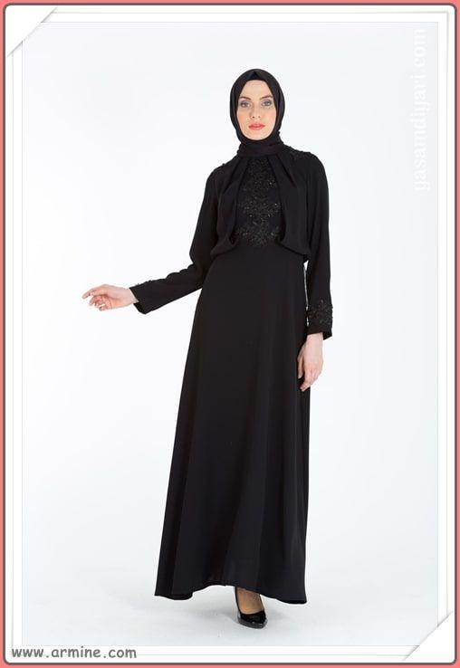c5fdbedc9d414 Armine Tesettür Abiye Modelleri 2019 Lookbook   Abiye & Elbise Modelleri   Elbise  modelleri, Abayalar, Moda