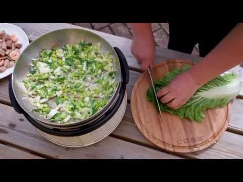 Wokgerecht met garnalen en rijst · Cobb Holland