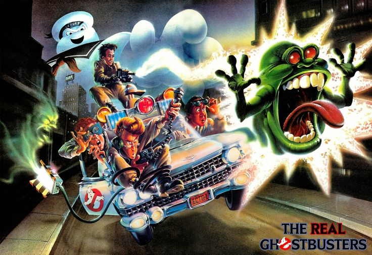 The Ghostbusters TV Series | The Real Ghostbusters Wallpaper The+real+ghostbusters+ ...