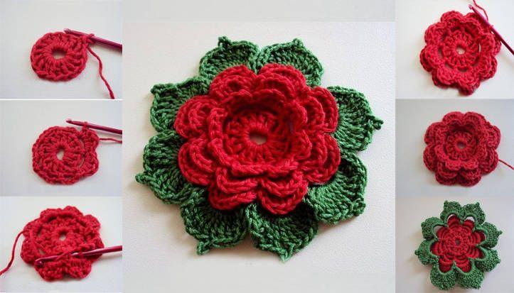 Hanımlar örgü çiçek motifi nasıl yapılır biliyor musunuz ? Adım adım resimlerle örgü çiçek motifi yapımını buradan öğrenebilirsiniz.