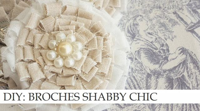 987 best images about fabric and felt flowers diy on pinterest - Telas shabby chic ...