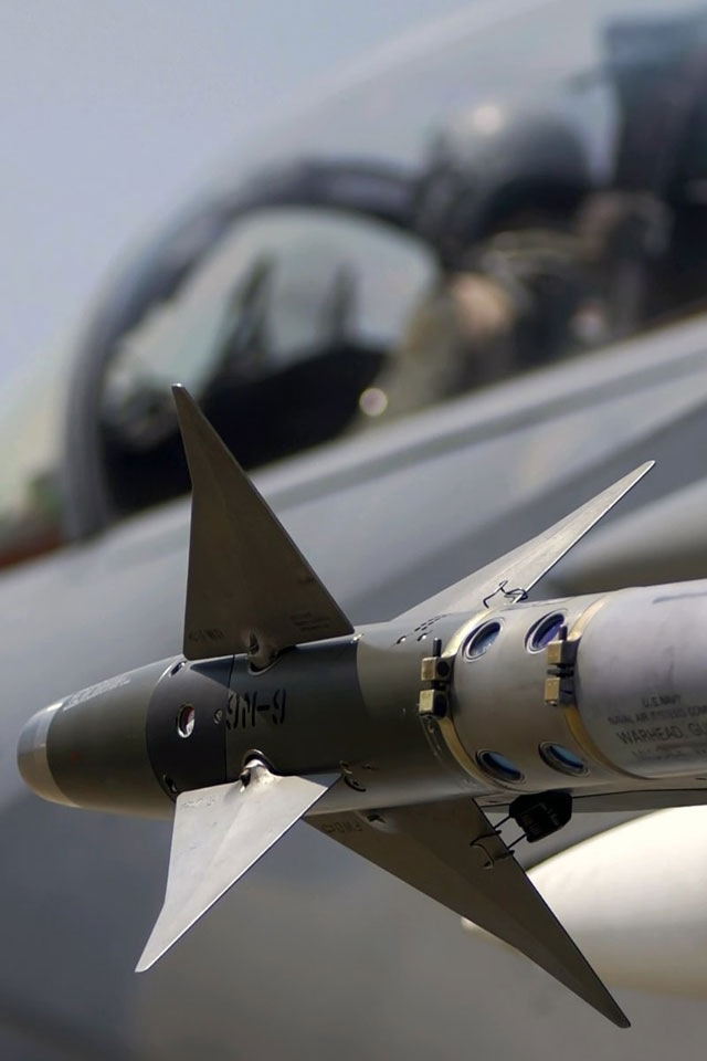 AIM-9 Missile...the U.S. Air Force medium range handshake.