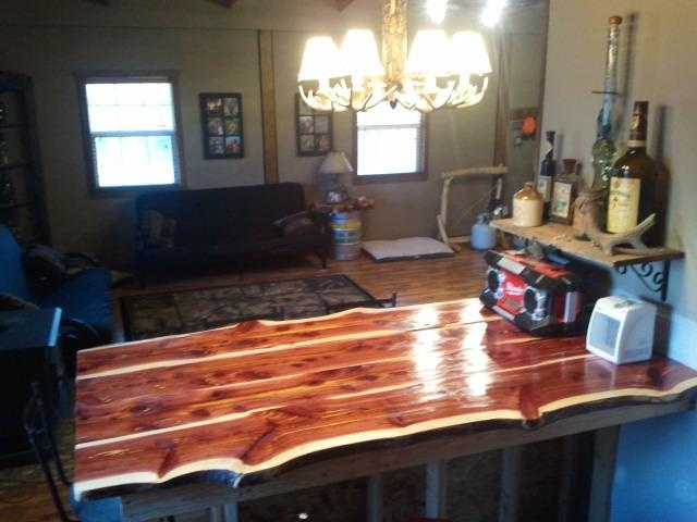 Cedar Countertop Order Yours Today Via Facebook Or Email