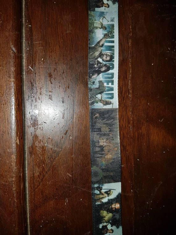 Check out this item in my Etsy shop https://www.etsy.com/ca/listing/581798108/walking-dead-inspired-grosgrain-ribbon