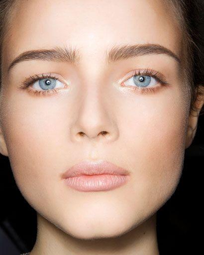 the 'no-makeup' makeup look for super sunny days.