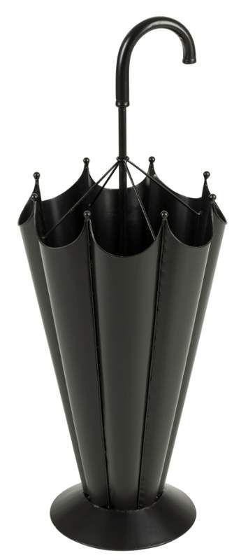 """Cooper Classics 6288 Wisconsin 35"""" Tall Umbrella Stand Matte Black Home Decor Accents Umbrella Stands"""