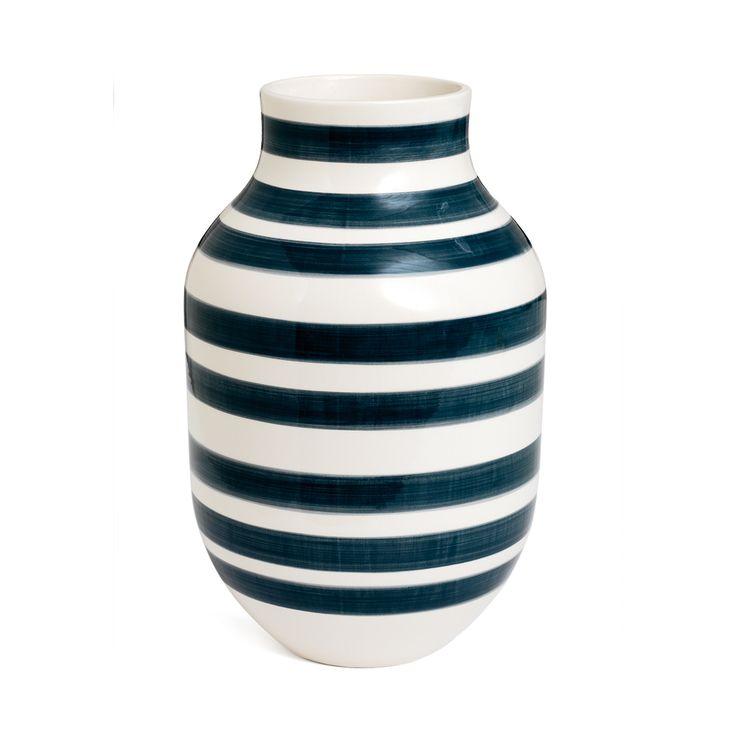 Omaggio+Vase+Grå+Large,+Kähler
