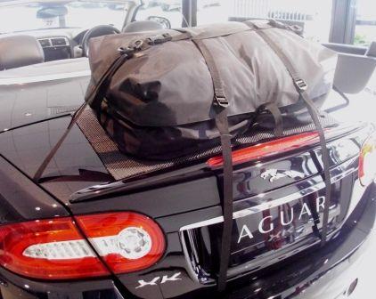Die Alternative zu einem Gepäckträger für lhren Jaguar XK.Hinzufügen von Wasserdicht 50 Liter Gepäckraum
