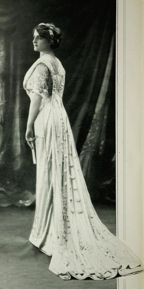 Les Modes (Paris) April 1909 Robe du Soir par Martial & Armand