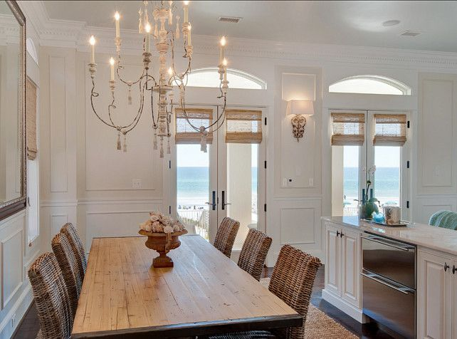 25 best ideas about coastal dining rooms on pinterest for French beach decor