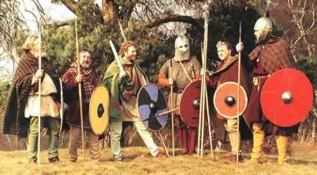 *Early Saxon Warband