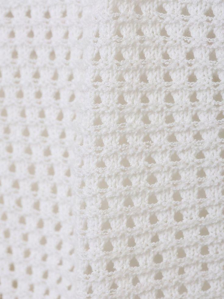 Amazon.co.jp: (エフデ)ef-de 透かし編みショートカーディガン イエロー 09: 服&ファッション小物通販