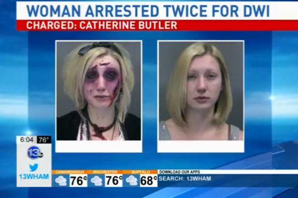 Wegen Trunkenheit am Steuer: Fahrerin zweimal am Tag festgenommen - Yahoo Nachrichten Deutschland