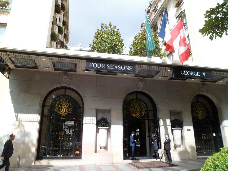 Four Season Hotel in Paris