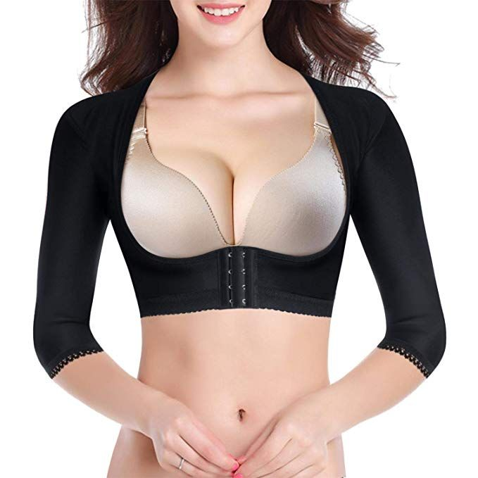 Lady Upper Arm Shaper Post Surgical Compression Posture Corrector Top Shapewear