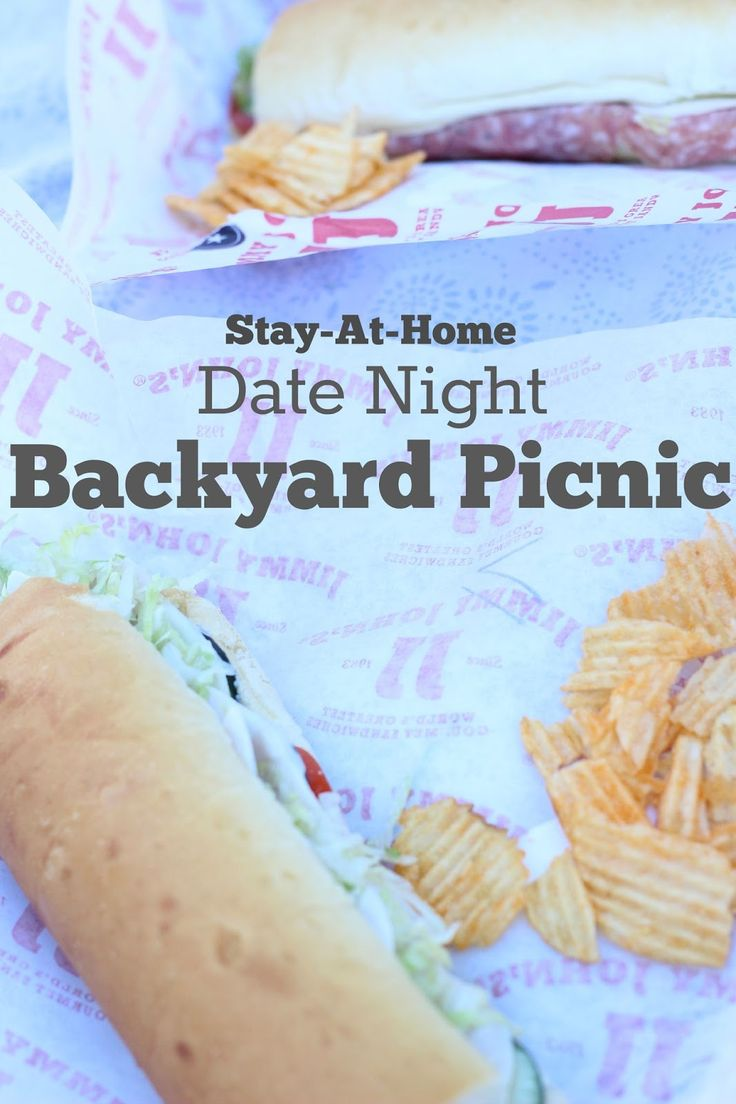 Easy Stay-at-home date night. Back Yard Picnic #datenight #dateyourhusband