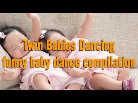 Bayi Kembar Joget - Bayi Kembar lucu || Kompilasi || || funny baby dance - YouTube