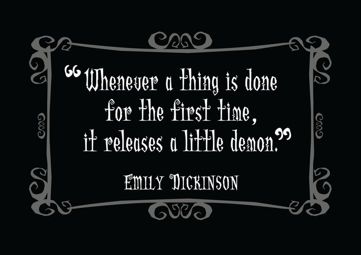 Quotes From Emily Dickinson | Delightfully Dark Quotes: Emily Dickinson