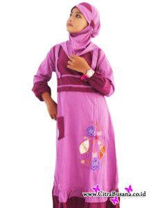 Baju Muslim Anak Perempuan - http://citrabusana.co.id/grosir/blog/baju-muslim-anak-perempuan