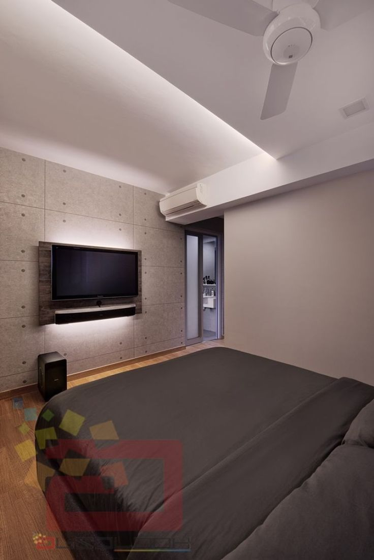 Project all white studio apartment perianth interior design new - The Peak Toa Payoh Hdb 4 Room Bedroom Design By Absolook Interior