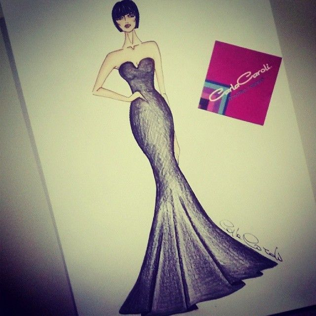 #fashion #illustration #carlacaroli