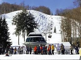 Skiing at Boyne Highlands, Petosky, Michigan