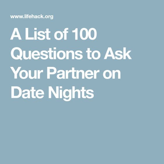how to ask your partner for an explanation