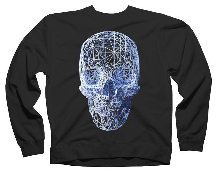 Wired Skull Sweatshirt