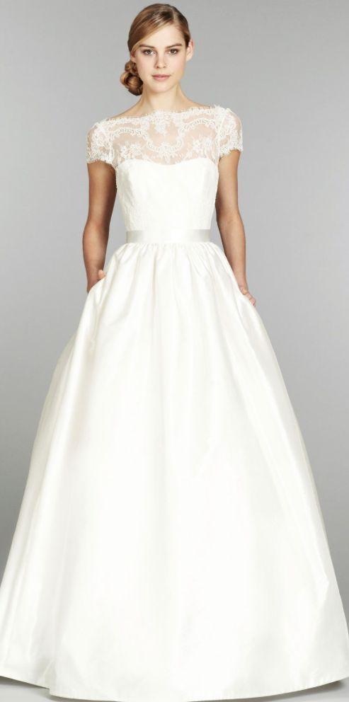 Wedding dress idea; Featured Dress: Tara Keely