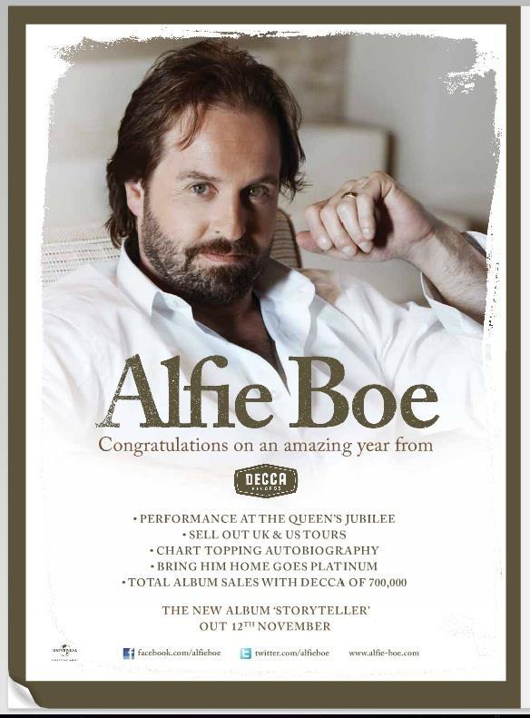 alfie boe memorial day concert