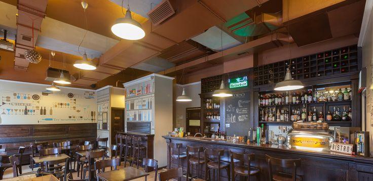 The interior of Corso Cafe&Bistro Cluj