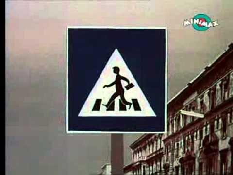 Stop. Közlekedj okosan 1 rész. Retro rajzfilm gyerekeknek.