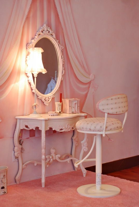 Dreamy Makeup Station Beautiful Decour In 2019 Pinterest Vanity Rooms And Room