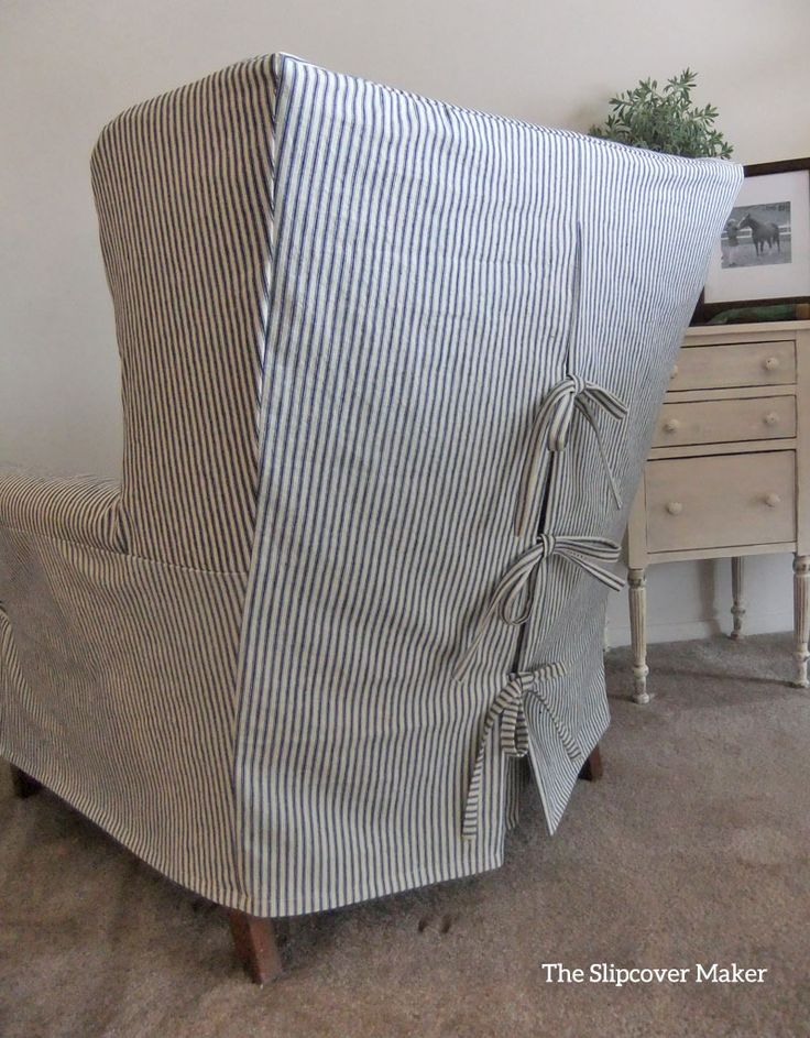 Back in 2014 I posted Ticking Stripe Fabric Reviews. At that time I tested a variety of ticking stripes all of which turned out to be too light weight, too limp or too narrow for slipcovers. My sea…