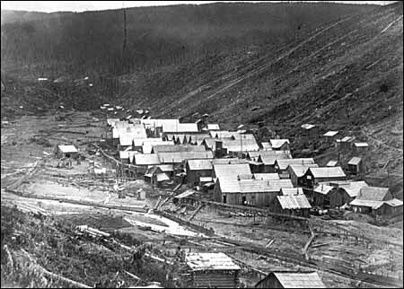 Barkerville, BC., before fire