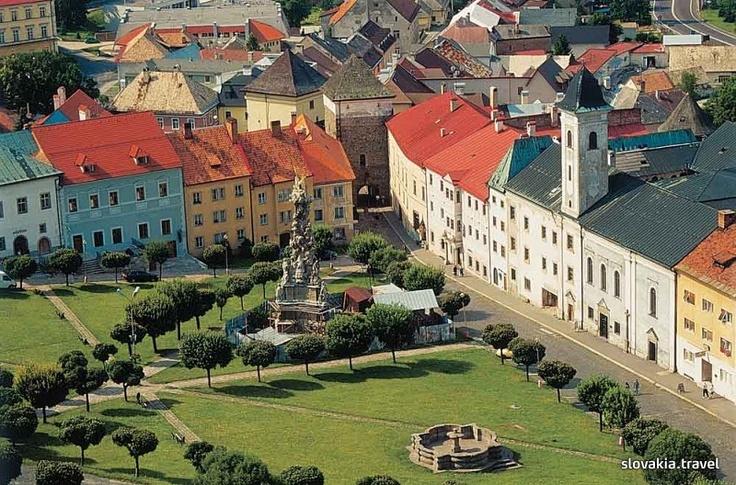 Slovakia, Kremnica - Trinity Pillar