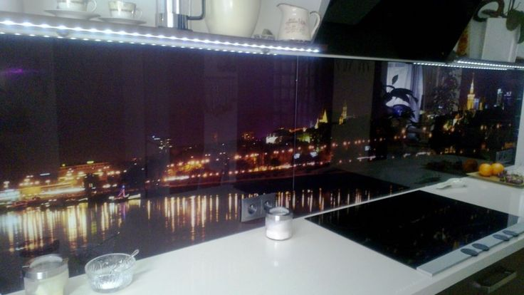 panele szklane do kuchni, warszawa panorama