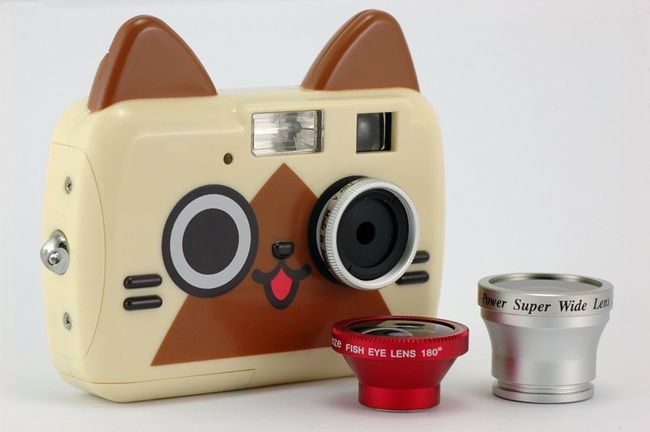 cute cat camera. (≧∇≦)